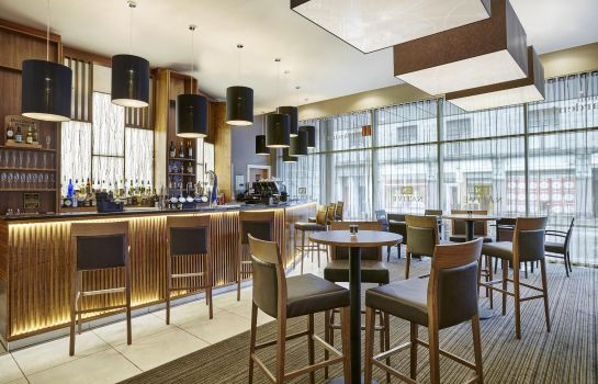 Hotel bar Hilton Garden Inn Aberdeen City Centre
