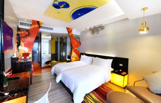 Double room (standard) Siam @ Siam Design Hotel Pattaya