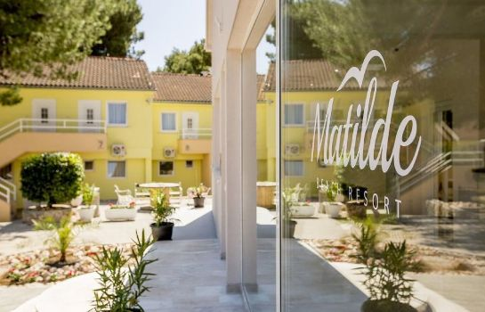 Vista all'interno Matilde Beach Resort