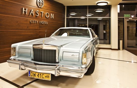 Hol hotelowy Haston City Hotel
