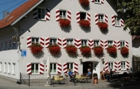 Exterior view Zur Post Gasthaus