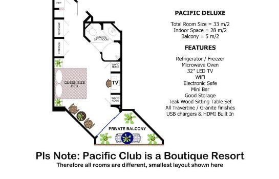 Info Pacific Club Resort