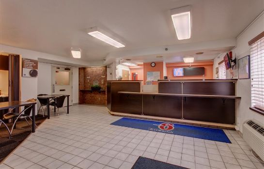 Hotelhalle MOTEL 6 LEWISTON