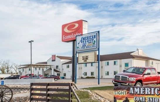 Vista esterna Econo Lodge Belle Fourche