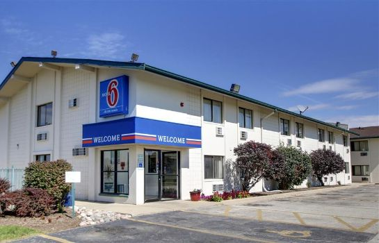 Außenansicht Motel 6 Normal Bloomington Area