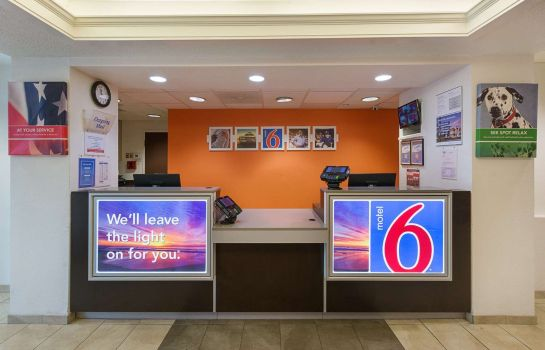 Hol hotelowy MOTEL 6 COLUMBIA EAST
