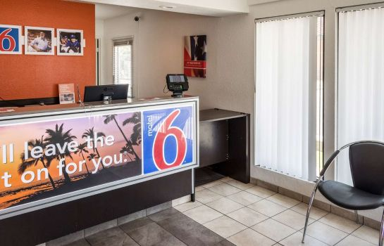 Hol hotelowy MOTEL 6 BAKERSFIELD CONVENTION CENT