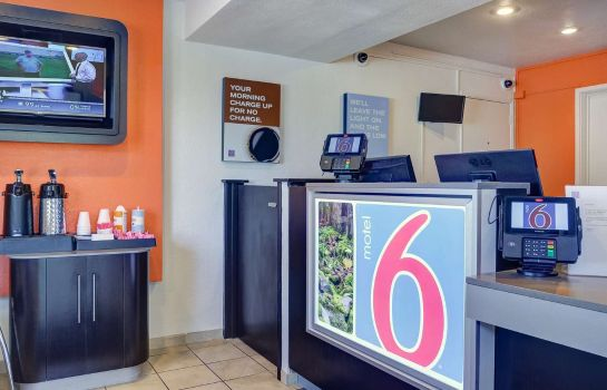 Hall de l'hôtel MOTEL 6 EUGENE SOUTH - SPRINGFIELD