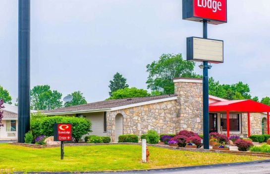 Buitenaanzicht Econo Lodge Richmond