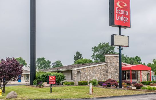 Vista exterior Econo Lodge Richmond