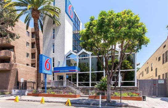 Außenansicht MOTEL 6 LOS ANGELES - HOLLYWOOD