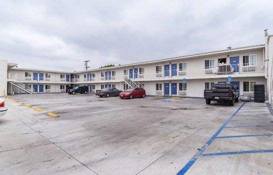 Außenansicht MOTEL 6 LONG BEACH INTERNATIONAL CI