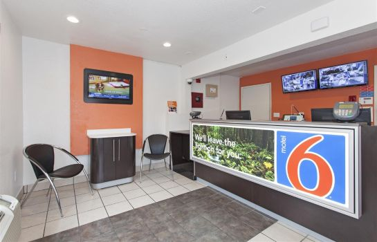 Hall de l'hôtel MOTEL 6 SACRAMENTO CENTRAL