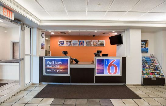 Hall de l'hôtel MOTEL 6 ORLANDO INTERNATIONAL DR