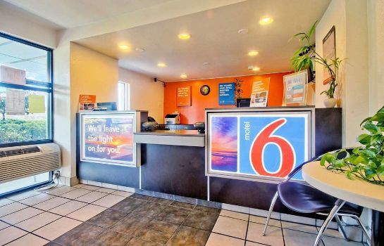 Hall de l'hôtel MOTEL 6 FT LAUDERDALE