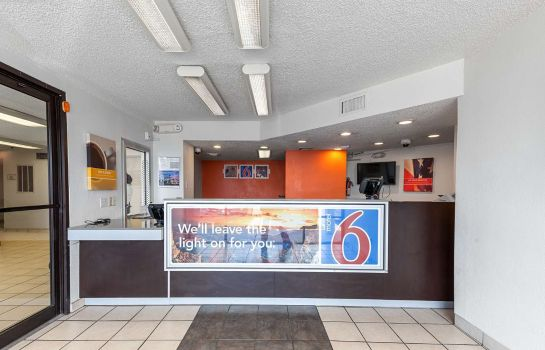Hall de l'hôtel MOTEL 6 HOUSTON RELIANT PARK