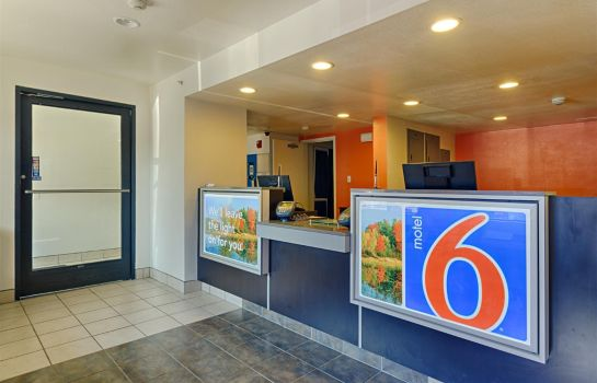 Lobby MOTEL 6 WASHINGTON