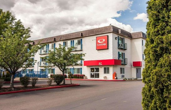 Exterior view Econo Lodge Corvallis