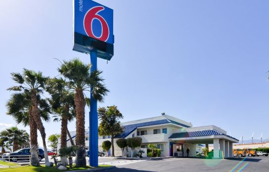 Vista exterior MOTEL 6 PALM SPRINGS NORTH