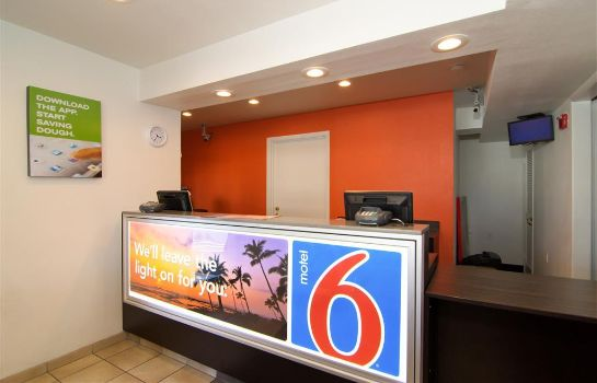 Hotelhalle MOTEL 6 PALM SPRINGS NORTH