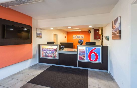 Hall de l'hôtel MOTEL 6 RENO WEST