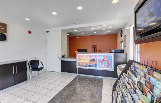 Hall de l'hôtel MOTEL 6 LOS ANGELES-BELLFLOWER