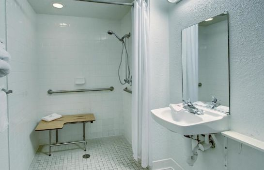 Bagno in camera Motel 6 Manhattan