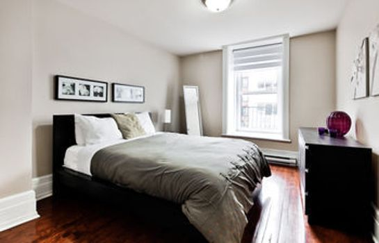 Standard room Residences Apartment Majestik Downtown Montreal