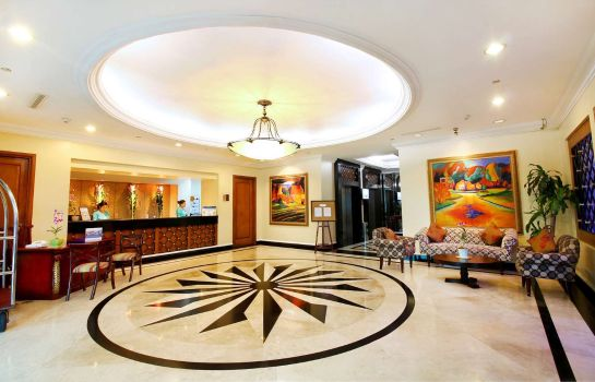 Hotelhalle Best Western Oxford Suites Makati