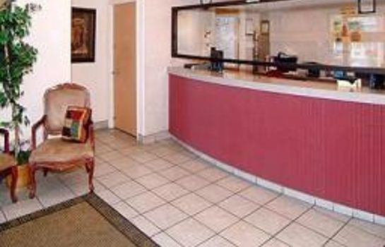 Lobby Econo Lodge West - Coors Blvd