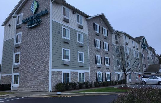 Vista exterior WOODSPRING SUITES RALEIGH APEX
