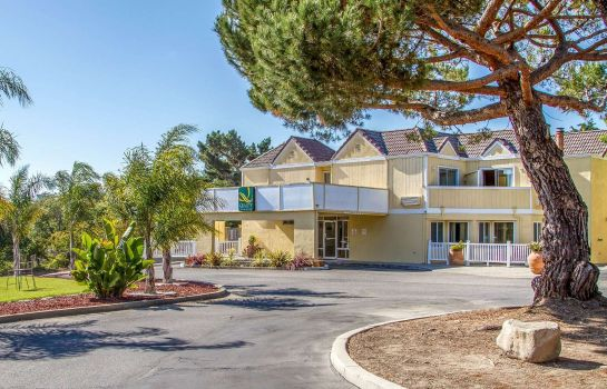 Vue extérieure Quality Inn & Suites Capitola By the Sea