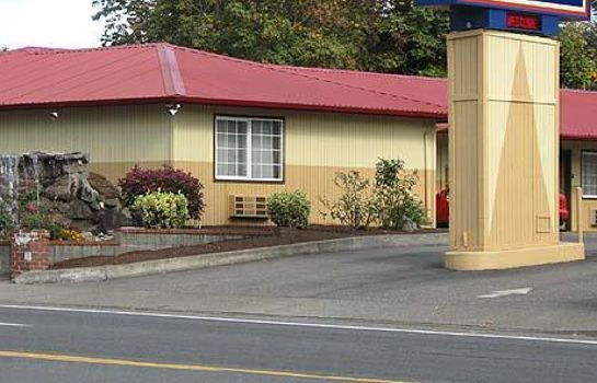 Exterior view BUDGET INN OREGON CITY PORTLAND