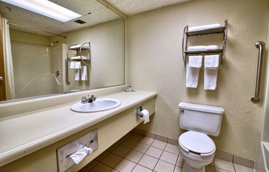 Bagno in camera Katahdin Inn & Suites