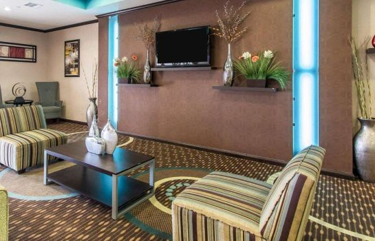 Hall de l'hôtel Comfort Inn and Suites Oklahoma City Wes