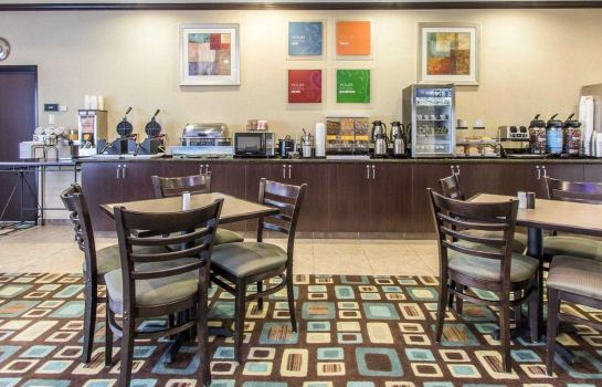 Restaurant Comfort Inn and Suites Oklahoma City Wes