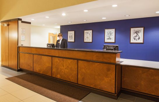 Hotelhalle La Quinta Inn and Suites Indianapolis AP Plainfield