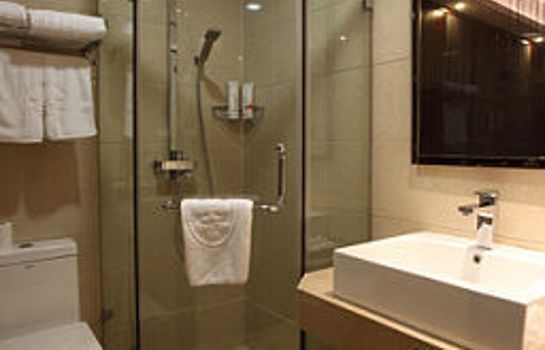 Bagno in camera Green Tree Inn Westlake Ave  Domestic only