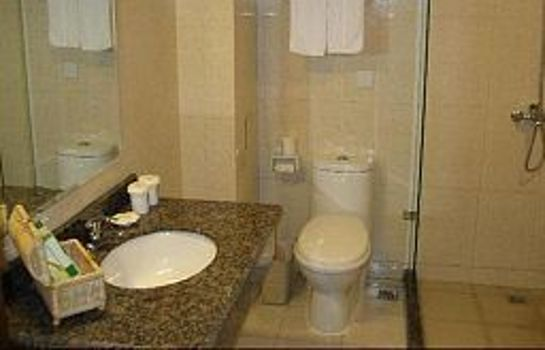 Bagno in camera Green Tree Inn Yizhuang Domestic only