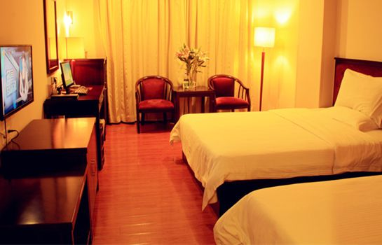 Doppelzimmer Komfort Green Tree Inn NanLang Metro Station Domestic only