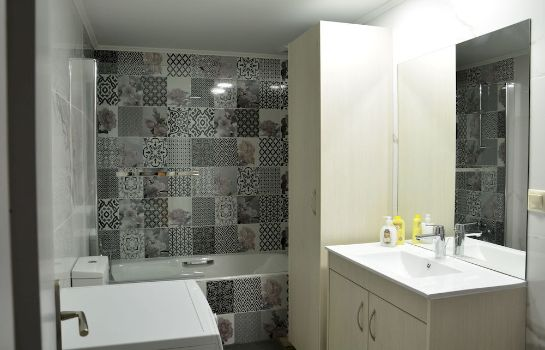 Bagno in camera Kasteli Studios & Apartments