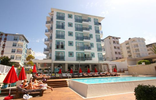 Buitenaanzicht Sunprime Alanya Beach - Adults Only