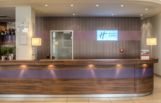 Reception Holiday Inn Express FRANKFURT CITY - HAUPTBAHNHOF