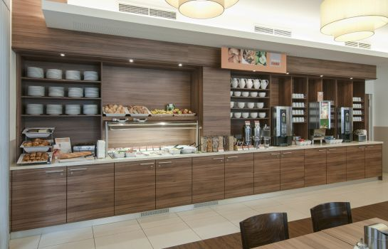 Breakfast buffet Holiday Inn Express FRANKFURT CITY - HAUPTBAHNHOF