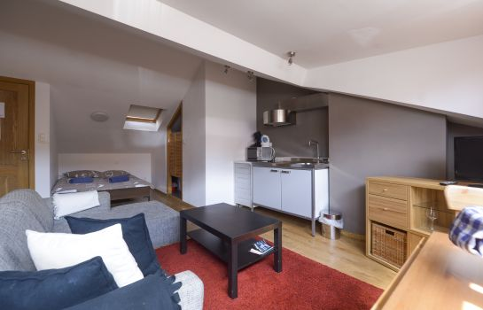 Suite junior Aparthotel Van Hecke