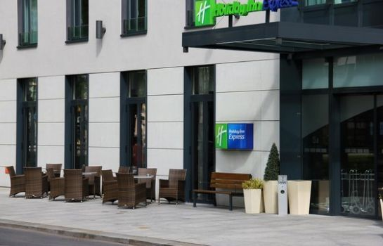 Exterior view Holiday Inn Express DRESDEN CITY CENTRE
