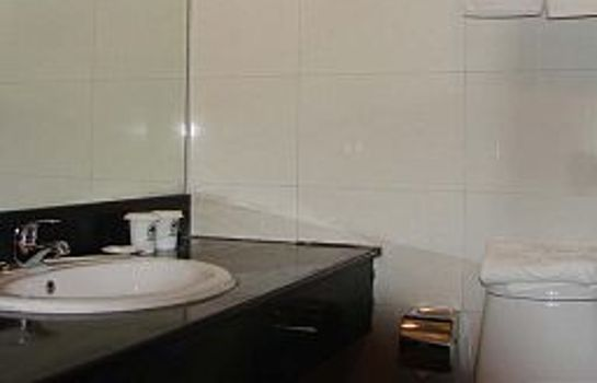 Cuarto de baño Green Tree Inn Gulou(Domestic guest only) Domestic only