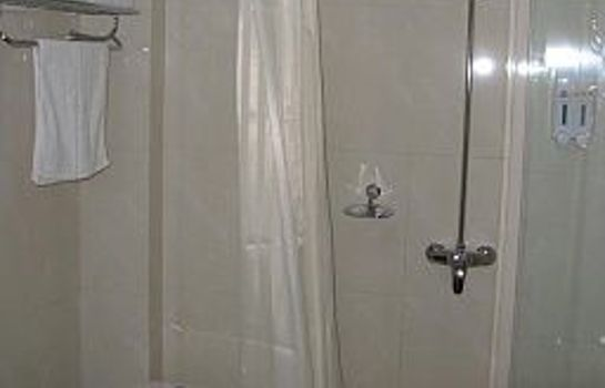 Bagno in camera Green Tree Inn Luoyang Imperial City Square Domestic only