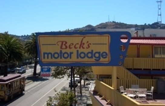 Vista esterna Beck's Motor Lodge