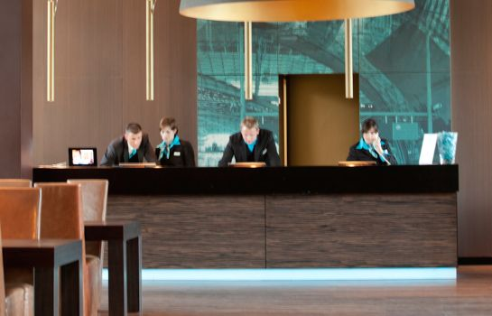 Reception Motel One Hauptbahnhof